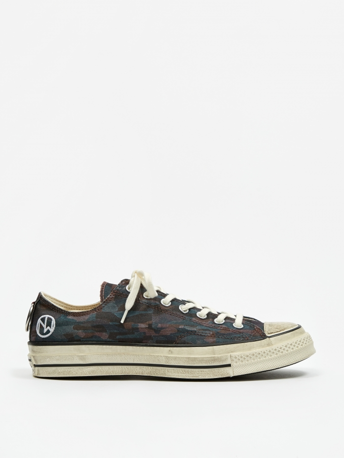 Converse x Undercover Chuck Taylor All Star Ox - Black/Camo (Image 1)