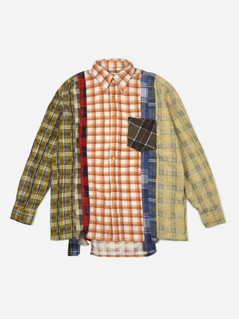 Rebuild 7 Cuts Flannel Shirt Size Large 1 - Assorted