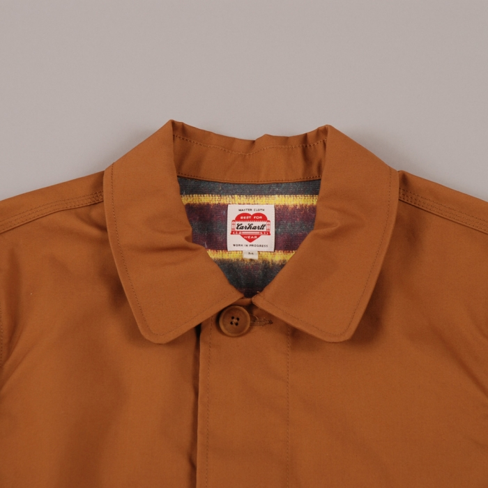 Carhartt Heritage Trench Coat - Hamilton Brown (Image 1)