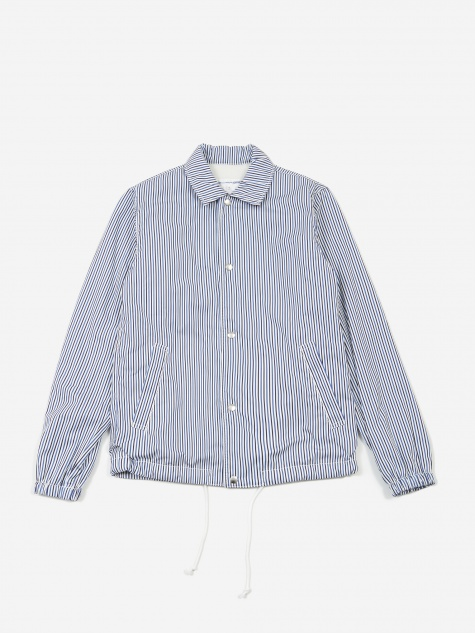 Fleece Lined Coach Jacket - Stripe