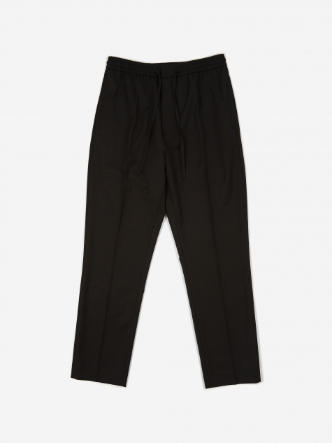 Stan Drawstring Trouser - Black