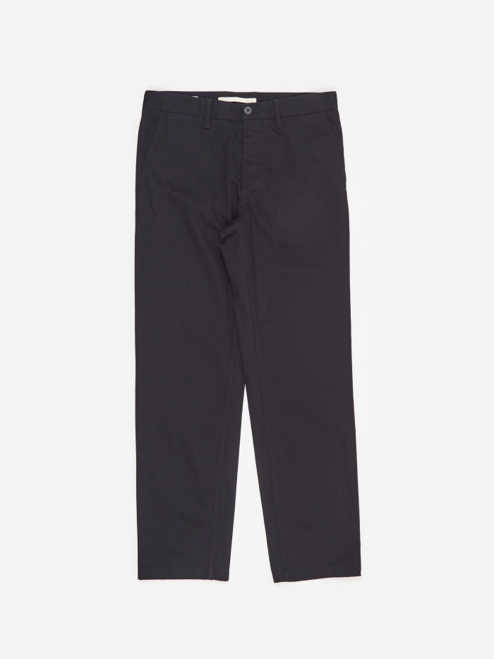 Norse Projects Aros Heavy Trouser - Dark Navy (Image 1)
