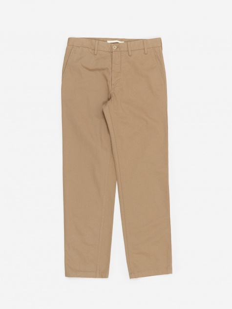Norse Projects Aros Heavy Trouser - Utility Khaki