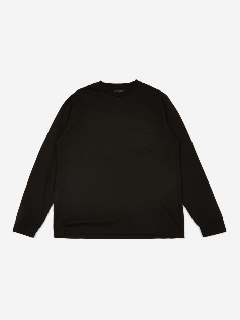40/2 Pocket T-Shirt - Black