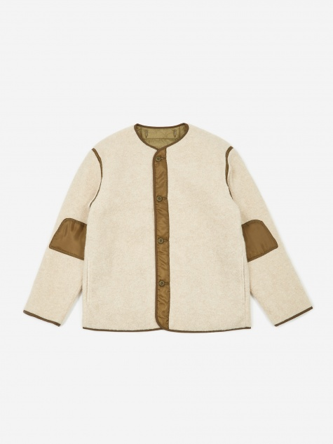 M-65 Liner Jacket - Off White/Olive