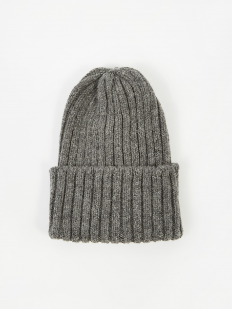 Wool Watch Cap - Grey