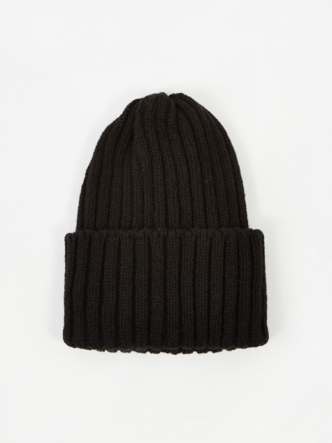 Wool Watch Cap - Black