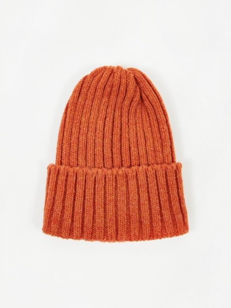 Wool Watch Cap - Orange