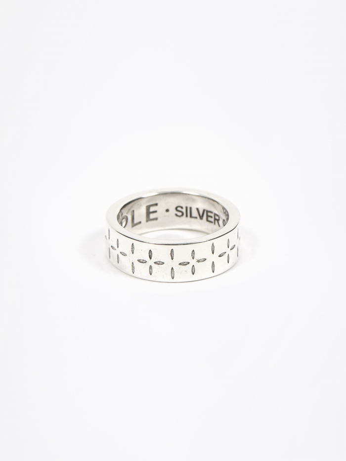 Maple Bandana Ring - Silver (Image 1)