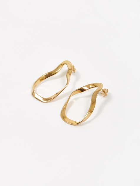 Small Vera Earrings - Gold Vermeil