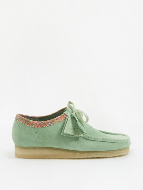 x Stussy Wallabee - Green Multi
