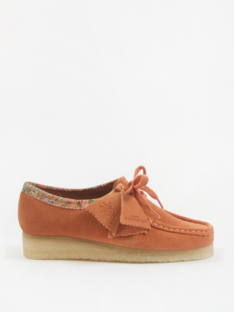 x Stussy Wallabee - Brown Multi