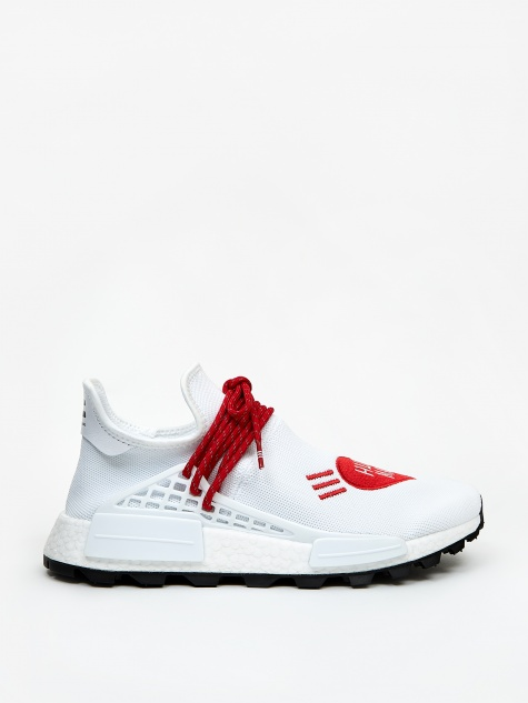x Human Race x Human Made NMD - Future White/Scarlet/Blac