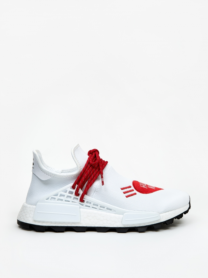 Adidas x Human Race x Human Made NMD - Future White/Scarlet/Blac (Image 1)