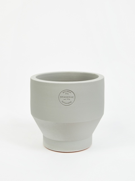 Edge Pot Ø18 - Light Grey