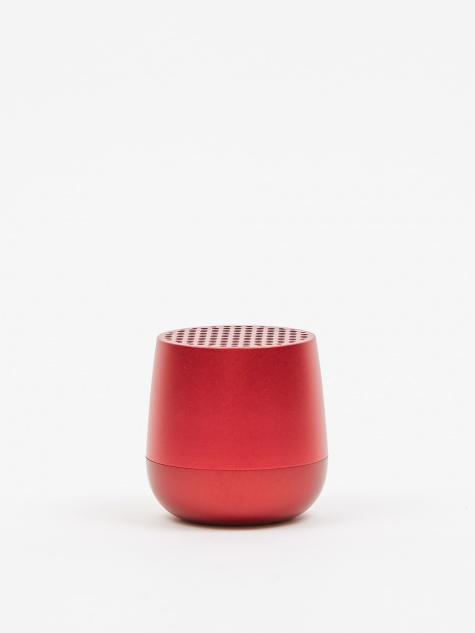MINO Bluetooth Speaker - Red