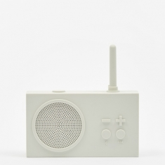 Lexon Tykho Wireless 3 FM Radio & Bluetooth Speaker - Off White