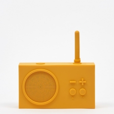 Lexon Tykho Wireless 3 FM Radio & Bluetooth Speaker - Yellow