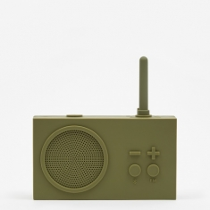 Lexon Tykho Wireless 3 FM Radio & Bluetooth Speaker - Khaki
