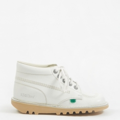 Kickers Kick Hi - White