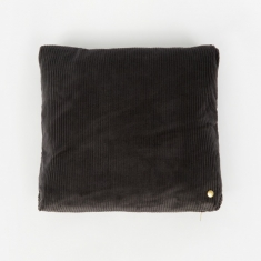 Ferm Living Corduroy Cushion 45 x 45 - Dark Grey