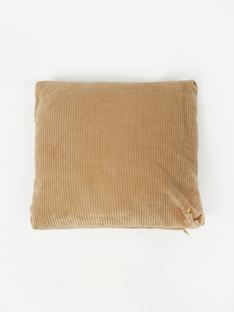 Corduroy Cushion 45 x 45 - Beige