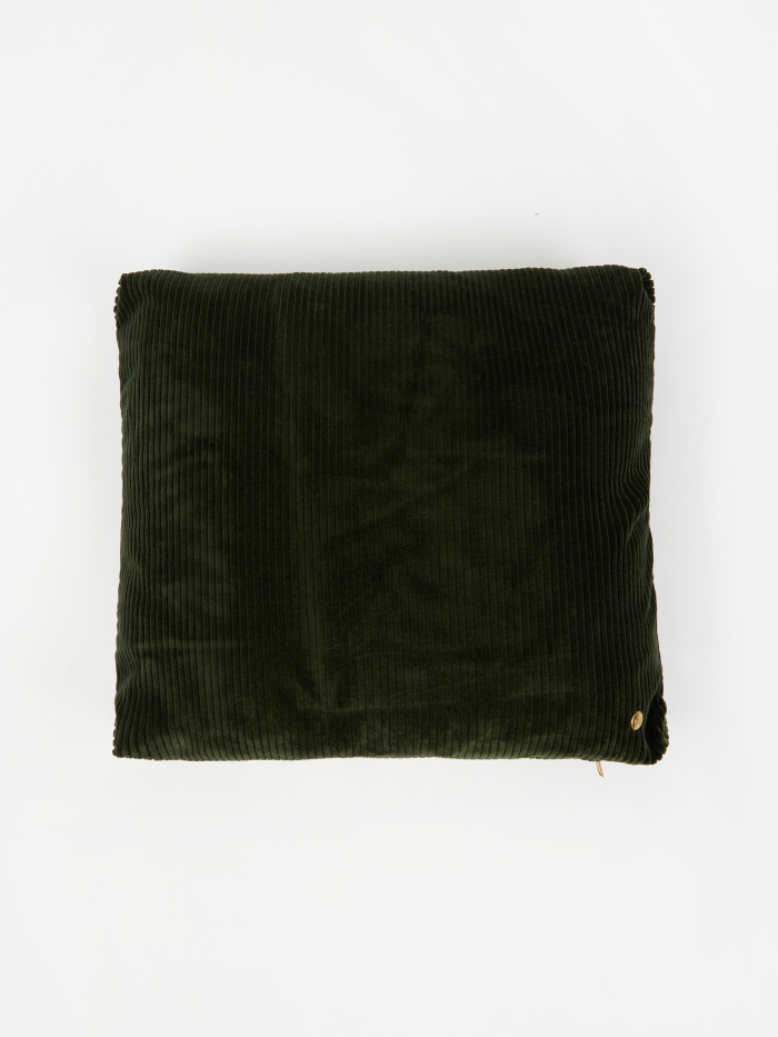 Ferm Living Corduroy Cushion 45 x 45 - Green (Image 1)
