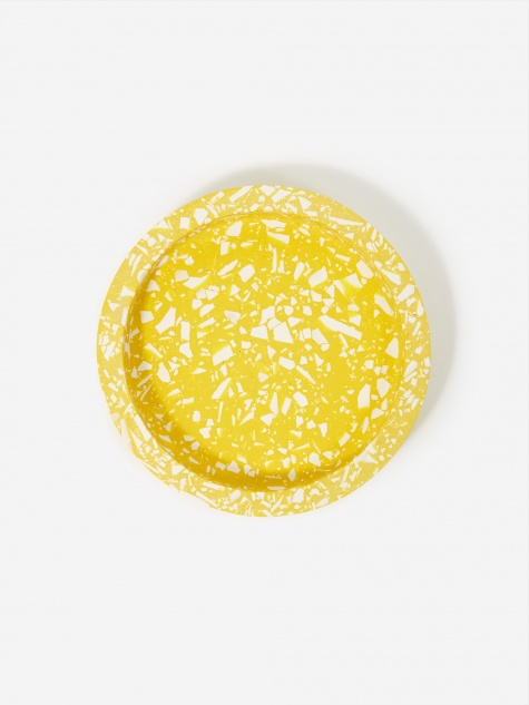 Katie Gillies Small Round Tray - Bolt