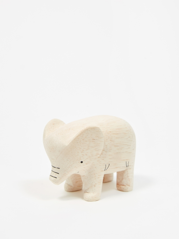 T-Lab Pole Pole Wooden Animal - Elephant (Image 1)
