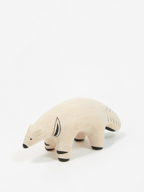 Pole Pole Wooden Animal - Anteater