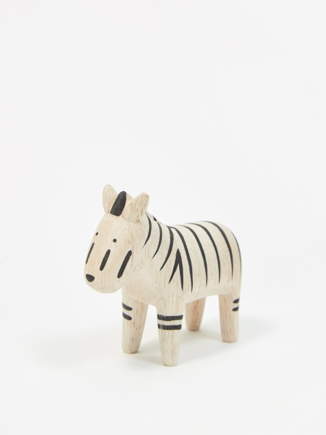 Pole Pole Wooden Animal - Zebra