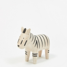T-Lab Pole Pole Wooden Animal - Zebra