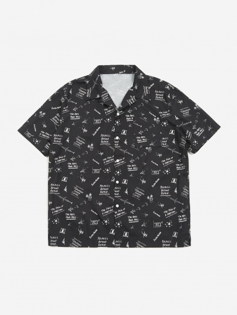 Doodles Shortsleeve Shirt - Black/White