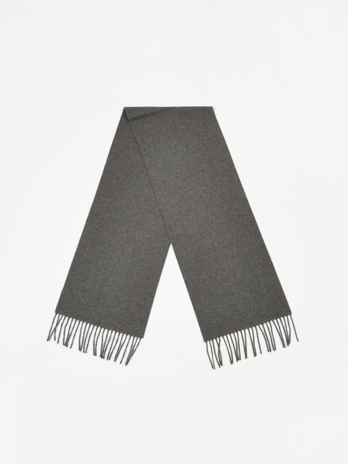 Norse Projects Lambswool Scarf - Charcoal Melange (Image 1)
