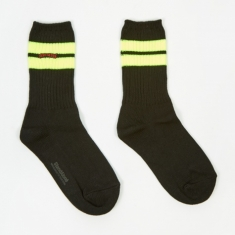 Stand Alone Sock - Yellow/Green
