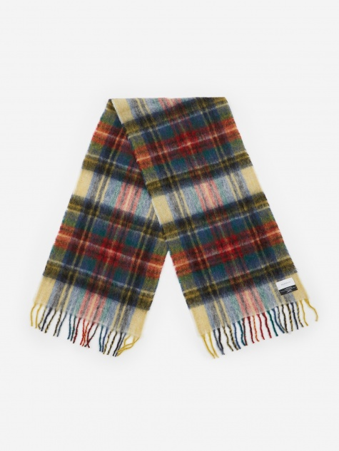 Fresia Check Scarf - Royal Holz