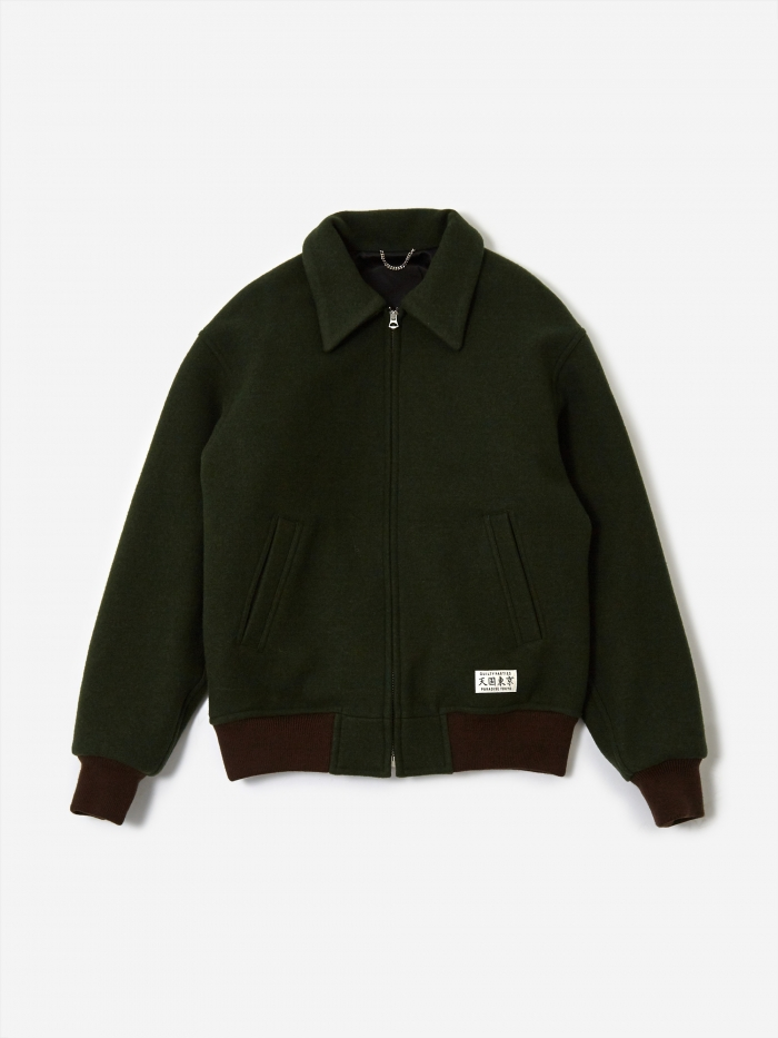 Wacko Maria 50's Jacket (Type-4) - Green (Image 1)