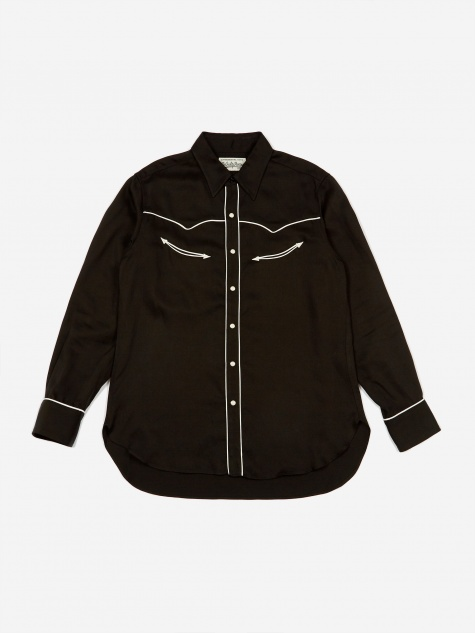 Western Shirt (Type 1) - Black
