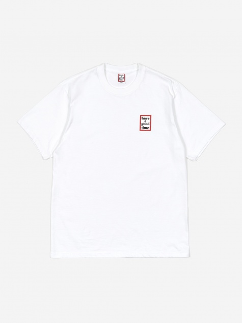 Mini Frame T-Shirt - White