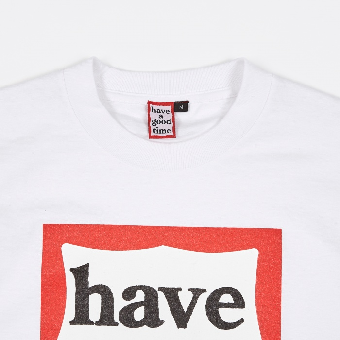 Have A Good Time Frame T-Shirt - White (Image 1)