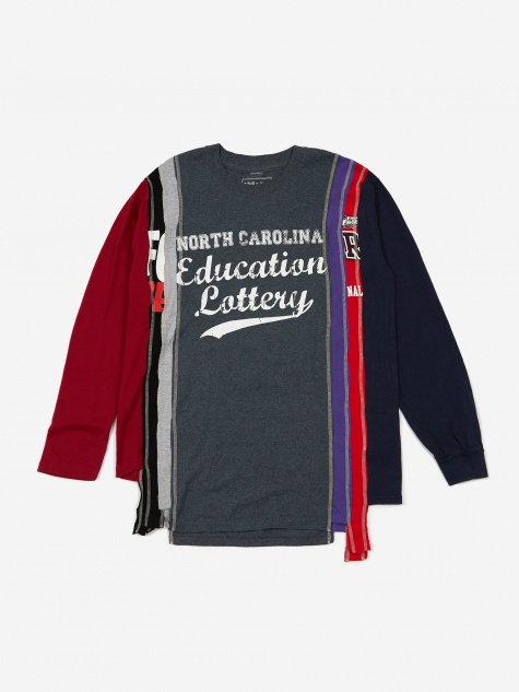 7 Cuts Longsleeve College T-Shirt Large 3 - Assorted