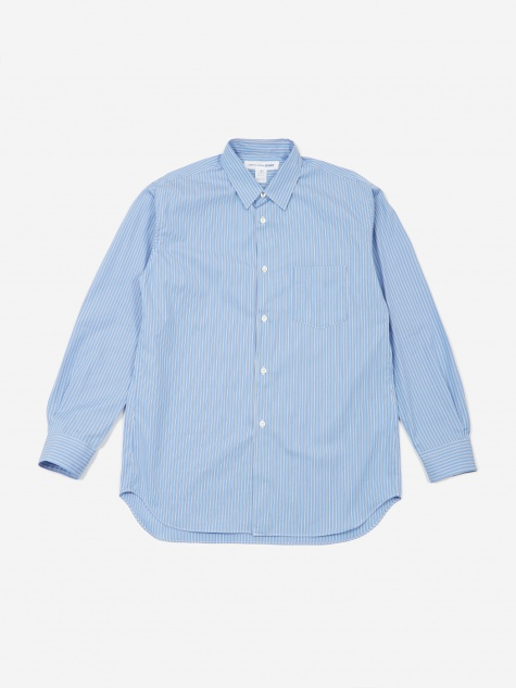 Forever Stripe Shirt - Dark Blue