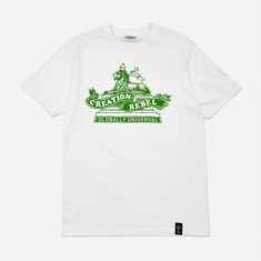 Creation Tribe Shortsleeve T-Shirt - White