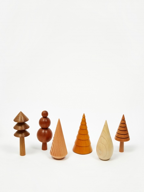 Single Wooden Tree
