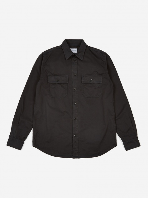 Villads Light Twill Shirt - Dark Navy