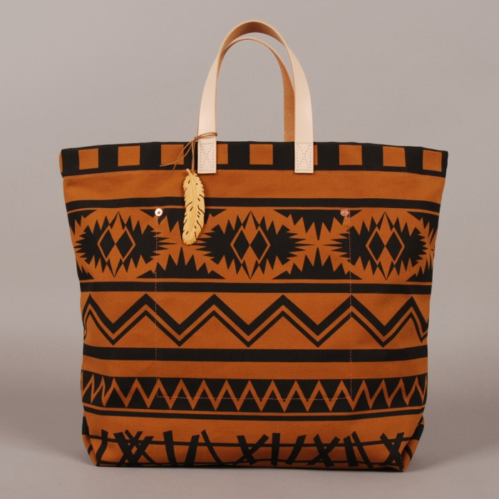 Knight Mills Hunter Gatherer Tote - Mustard (Image 1)