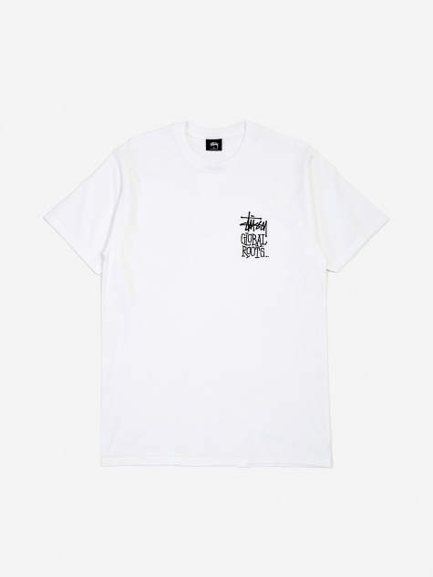 Global Roots Shortsleeve T-Shirt - White