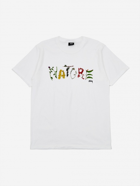 Stussy Nature Shortsleeve T-Shirt - White