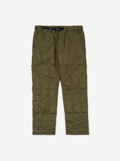 Recycled Middle Down Pant - Olive