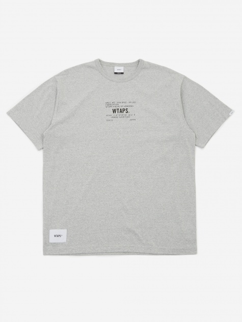 Academy Shortsleeve T-shirt - Grey